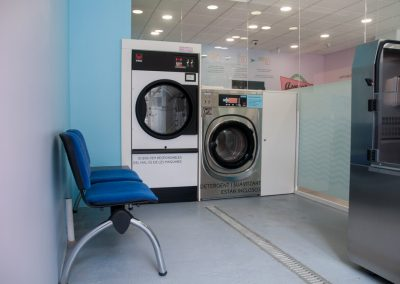 Sección de lavado de animales y mascotas